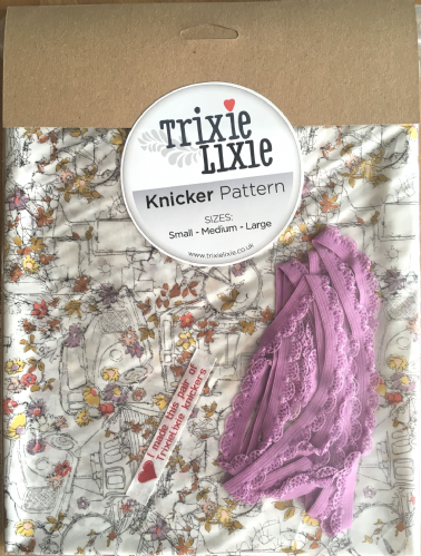 Liberty Fabric - Travelling Threads - Knicker Kit